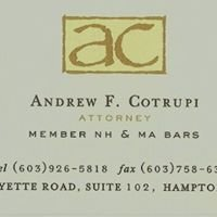 Attorney Andrew F. Cotrupi
