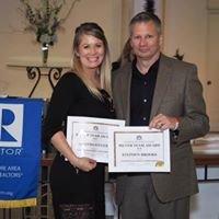 The Winning Team: Amanda Stevens & Steve Brooks, Realtors