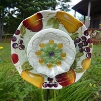 Charming Glass Treasures        for the Garden