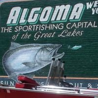 Algoma, Wisc. Fishing