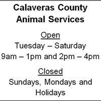 Calaveras County Animal Services