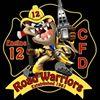 "The 12 House "" Home of the Roadwarriors ""  Charlotte Fire Dept B shift"