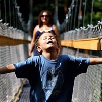 Murch Canopy Walk at The Holden Arboretum