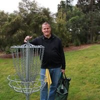 Tony Waterfall's Portable Disc Golf Course