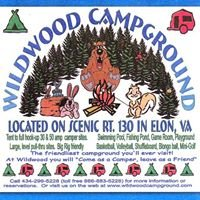 Wildwood Campground in Monroe Virginia