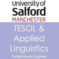 The University of Salford TESOL & Applied Linguistics