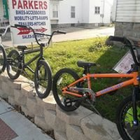 Parkers Sport Shop, Bikes and Skateboards