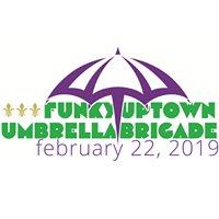 Mardi Gras Galveston Funky Uptown Umbrella Brigade