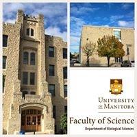 Department of Biological Sciences, University of Manitoba