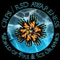 CRPS / RSD Awareness World of Fire & Ice Graphics