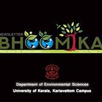Department of Environmental Sciences, University of Kerala
