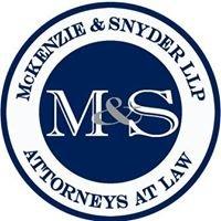 McKenzie & Snyder LLP.