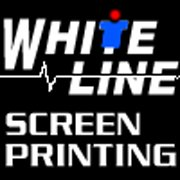 White Line Screen Printing
