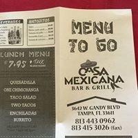 Casa Mexicana Bar & Grill