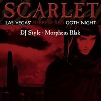 Scarlet - Las Vegas' Deepest Red Goth Night