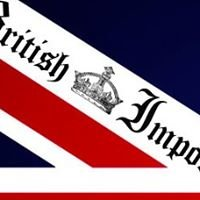 British Imports at Sweets Instore