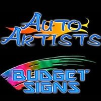 Auto Artists    Budget Signs