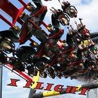 X Flight Roller Coaster