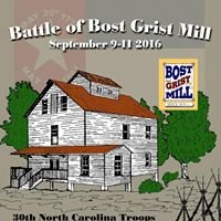 Battle at Bost Grist Mill