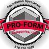 Pro-Form Concrete Foundation Specialists