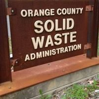 Orange County NC Solid Waste Management
