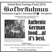 Hofbrauhaus Restaurant, G.I. Germany Pub & Biergarten