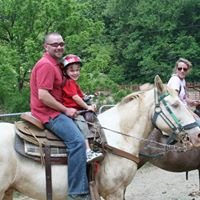 Sandy Bottom Trail Rides and Jackie Ball