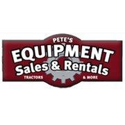Pete's Equipment Sales and Rentals
