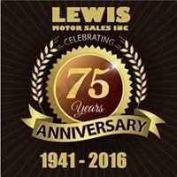 Lewis Motor Sales Inc.