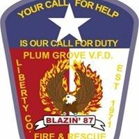 Plum Grove Volunteer Fire Department.