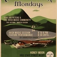 Irish & Folk Monday Evenings At The Honeymoon Mead & Cidery