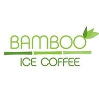 Bamboo ice coffee