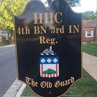 HHC, 4th Battalion, 3rd U.S. Infantry Regiment
