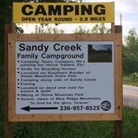 Sandy Creek Family Campground
