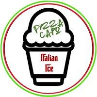Pizza Capo's Italian ice