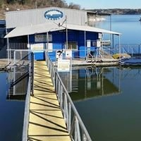 Frank's Marina on Belton Lake