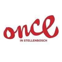 Once in Stellenbosch