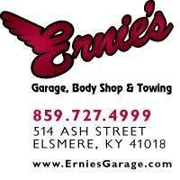 Ernie's Garage, Body Shop & Towing