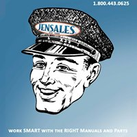Jensales Tractor Manuals and Parts