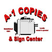 A-1 Copies & Sign Center
