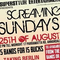 Screaming Saturday & Sunday's @ The Annandale Hotel