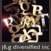 Cut Metal Letters by J & G Diversified, Inc.