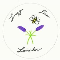 Lazy Bee Lavender