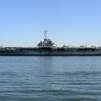 USS Yorktown Aircraft Carrier.