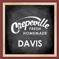 Crepeville in Davis