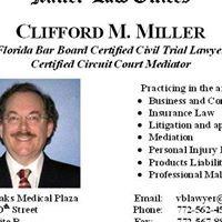 Vero Beach Florida Lawyer Clifford M Miller attorney at law