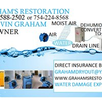 Graham's Restoration 24 Hour Water Removal And Restoration