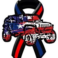 Patriotic Jeeps Supporting Public Safety
