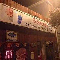 3 Scoops ice cream General store