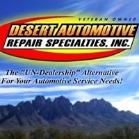 Desert Automotive Repair Specialties inc.